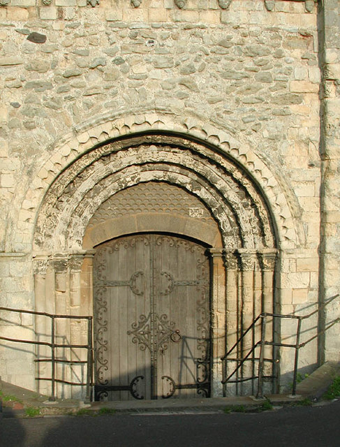 St Nicholas, New Romney, Kent - Tower doorway