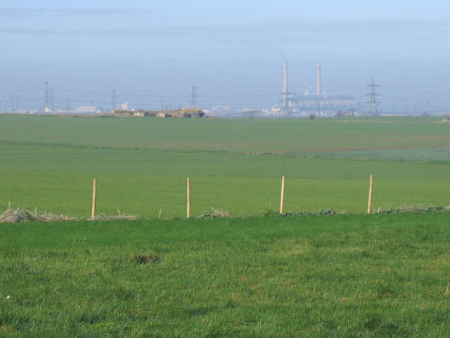 View west from Taylors Lane, Higham