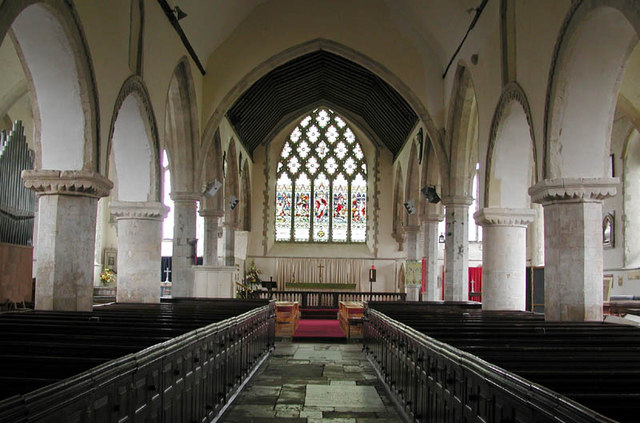 St Nicholas, New Romney, Kent - East end