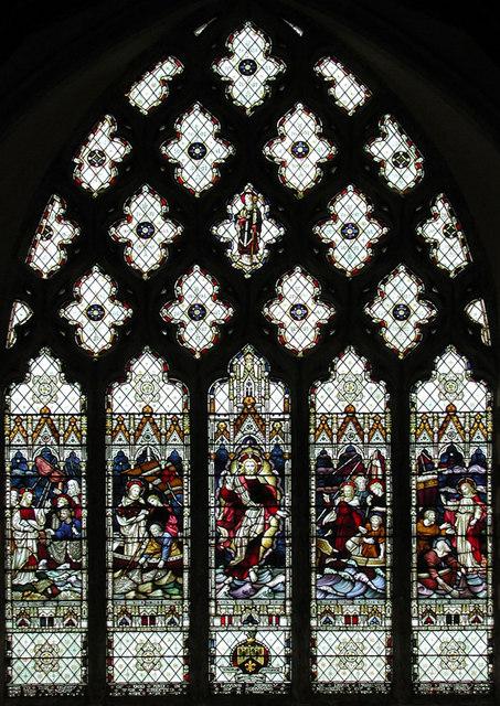 St Nicholas, New Romney, Kent - East window