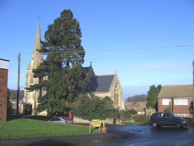 St John's parish church, Higham