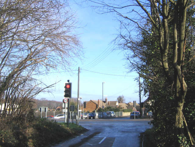 A226 crossroads, Higham