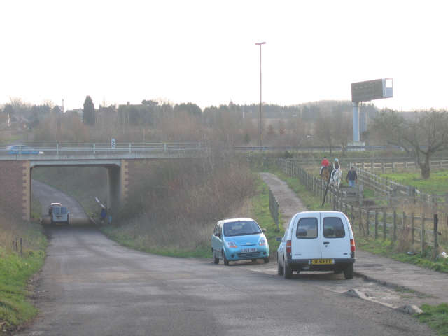 A289 underpass, Crutches Lane
