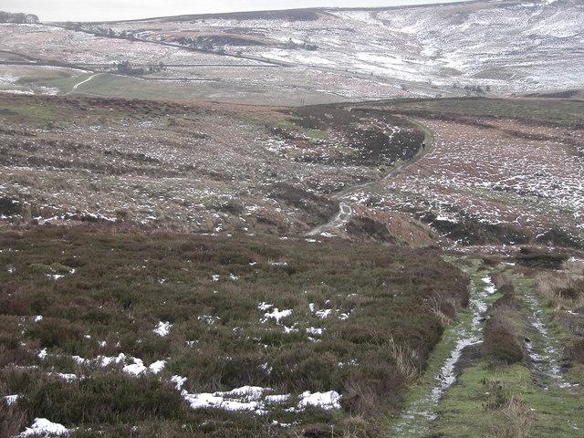 Derwent Moors looking South- East