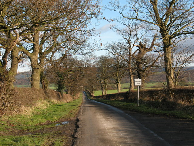 Country Lane to Sowerby Grange
