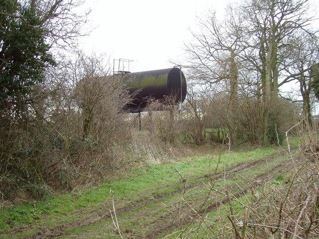 Unusual Water Tank near Binley
