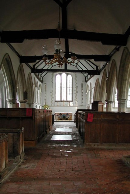St Augustine, Brookland, Kent - East end