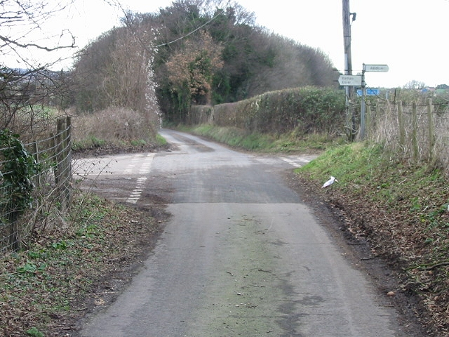 Junction of Coldharbour Lane and Brambling Road.