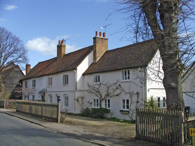 Houses in Much Hadham, Hertfordshire