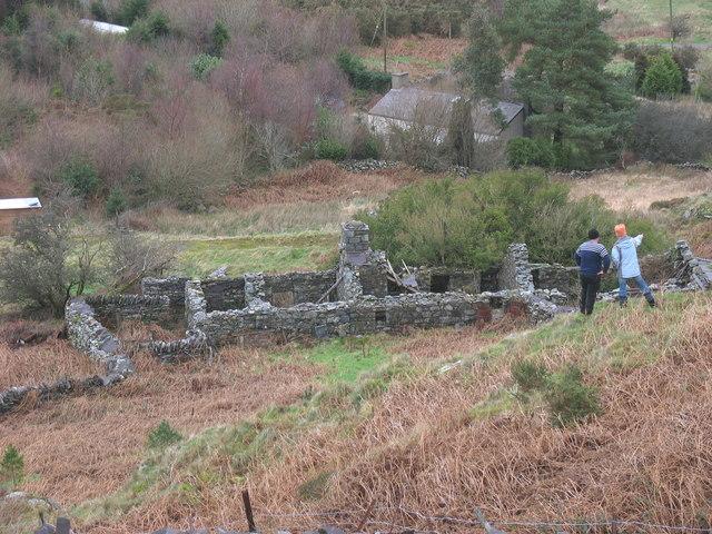 The ruins of Hafotty