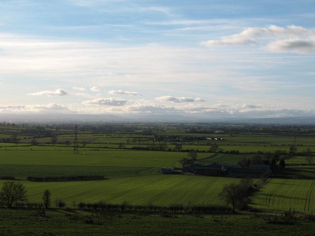Farmland around Winton Beck