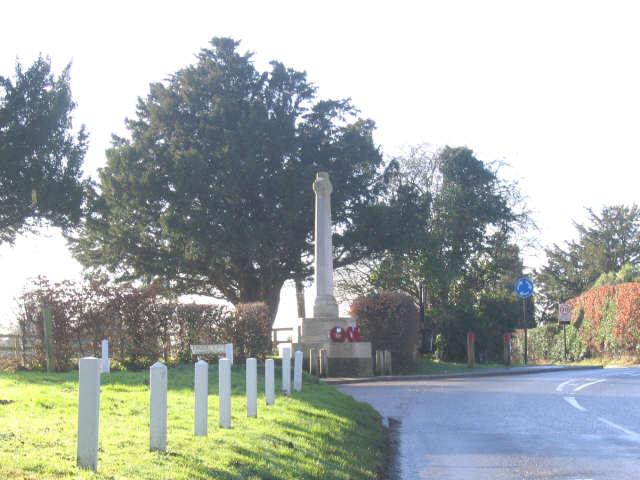 Cobham Village war memorial