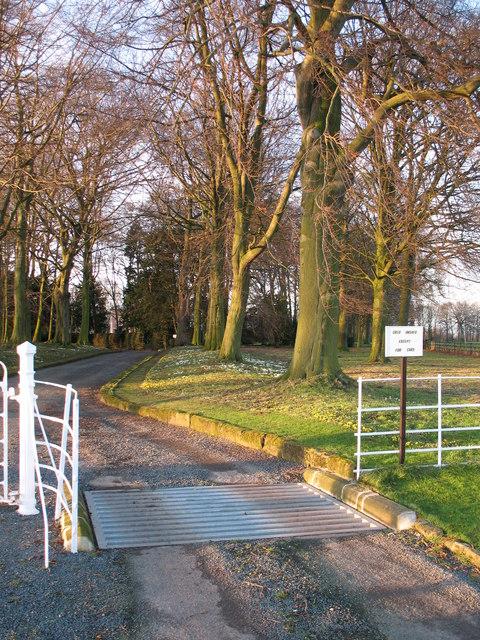 Brawith Hall driveway