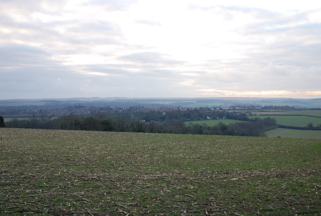 View from Blandford Camp