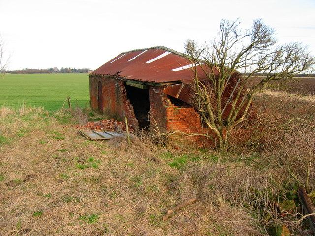 Dilapidated Farm Building