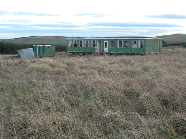 Abandoned Shooting Ground Buildings