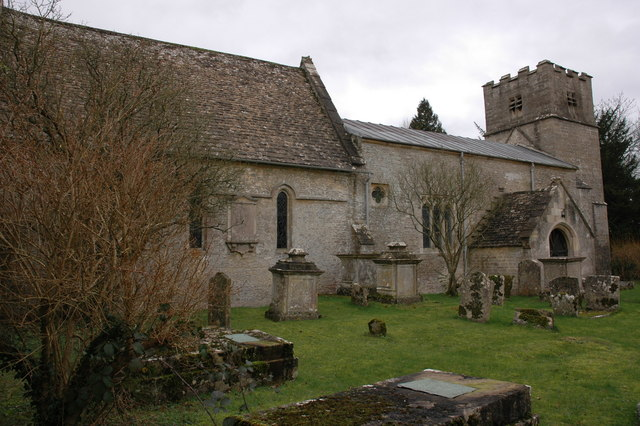 St Nicholas church, Cherington