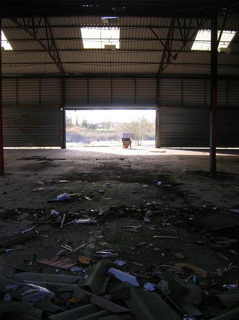 Inside the Derelict Depot.