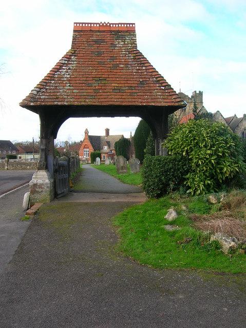 Lych Gate, East Hoathly Church