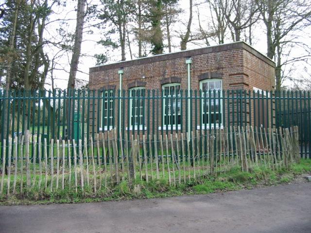 Pumping station on Covet Lane.