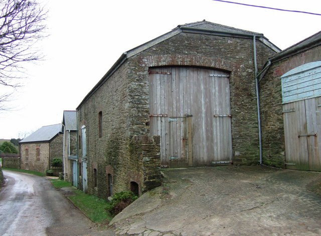 Farm buildings at Cholwells