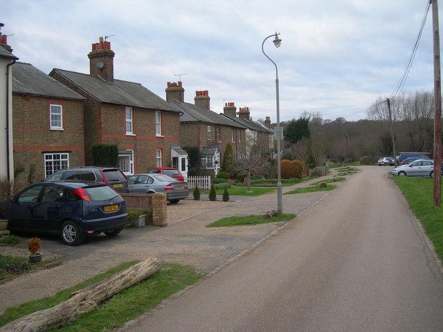 Cottages on Ashtead Common