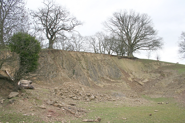 Quarry on Cockshot Hill
