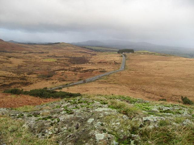 Drymen Road at Stockiemuir
