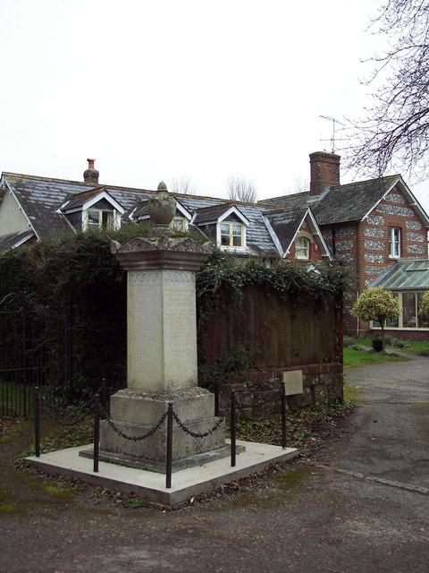 War Memorial, Ebbesbourne Wake
