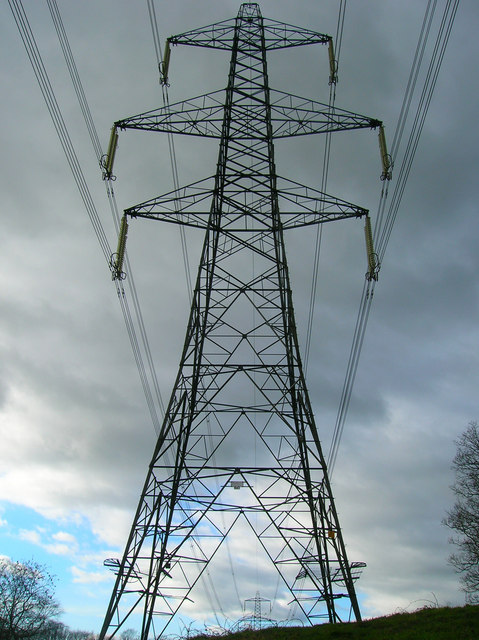 Electricity Pylons near The Lews