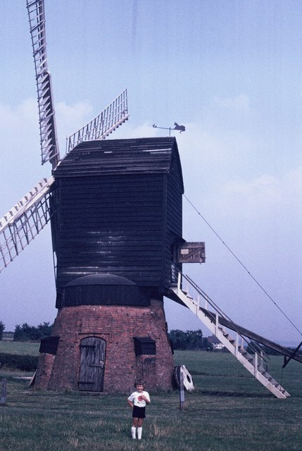 Windmill at Avoncroft Museum
