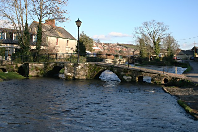 Prior's Bridge and the River Kensey