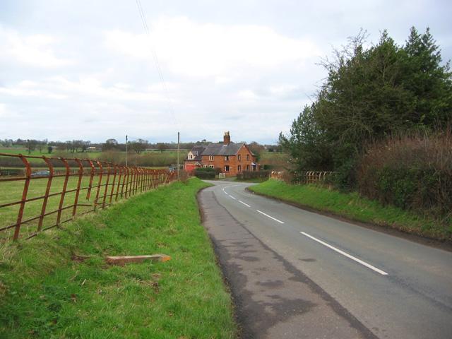 Minor road near Bawbrook