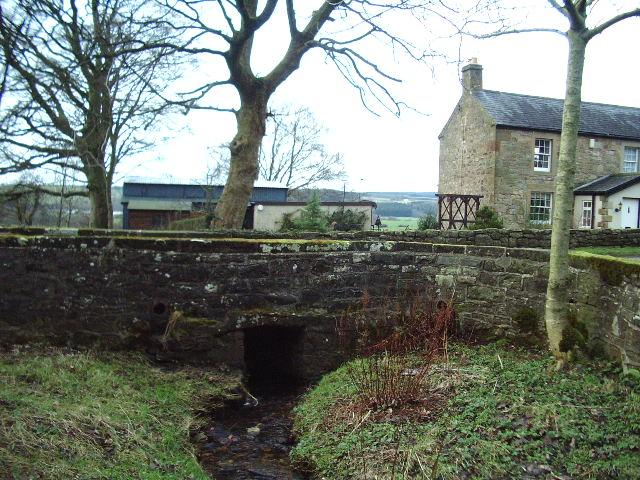 Bridge over Chapel Burn at Warwicksland