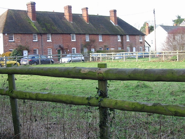Row of houses on The Street, Bishopsbourne