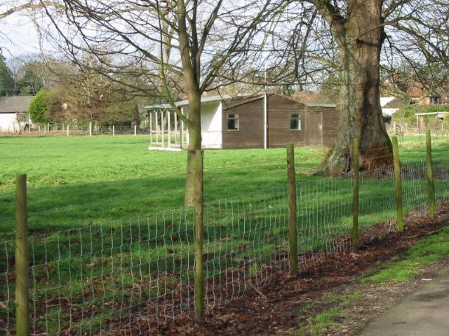 Bishopsbourne cricket pavilion
