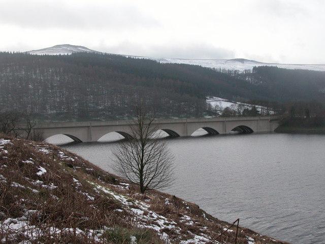 Ladybower in winter