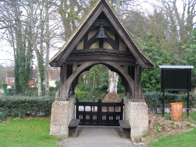 The Lych gate St Blaisius Church