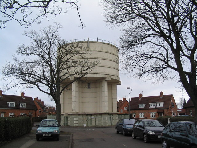 Water tower roundabout