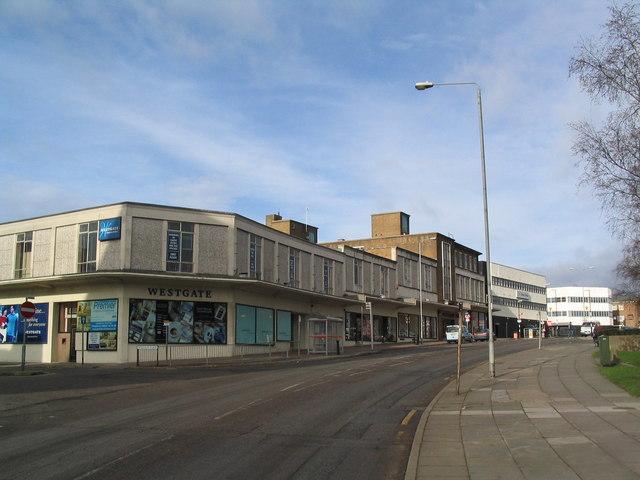 Near Corby Town Centre