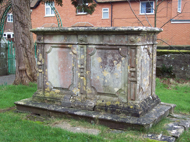 Tomb in St Mary's Churchyard