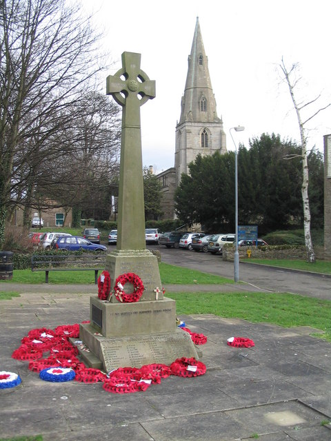 War memorial, 'Old' Corby