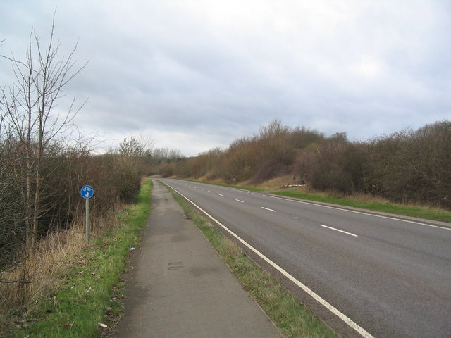 Cycle and foot path, A6116