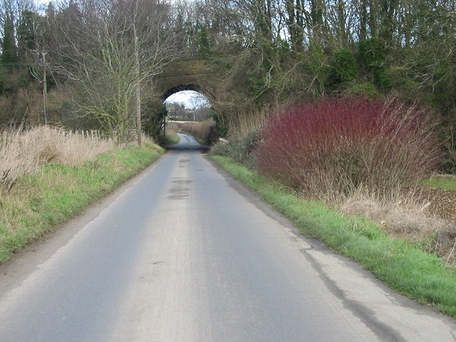 Bridge of dismantled railway line.