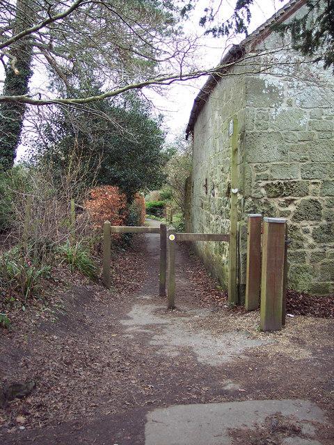 Church Walk, Motcombe