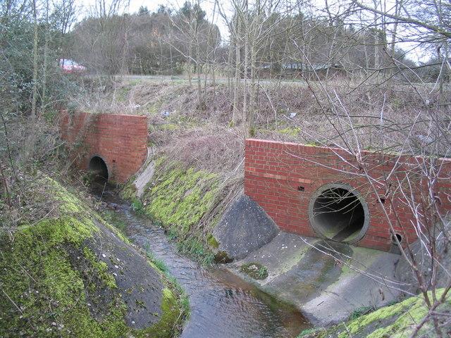Culverts beneath the A6116