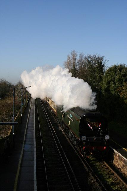 The Last Steam Train Through Birchington on Sea