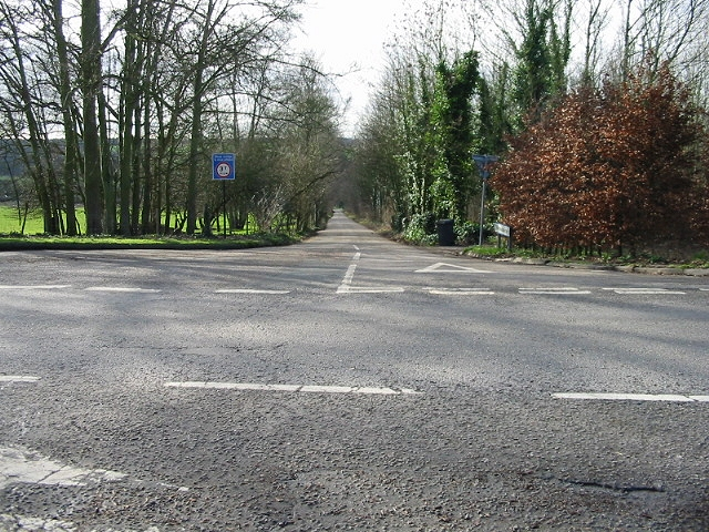 Junction of Frog Lane.