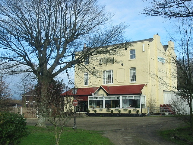 The Coach House hotel, just off the A2.