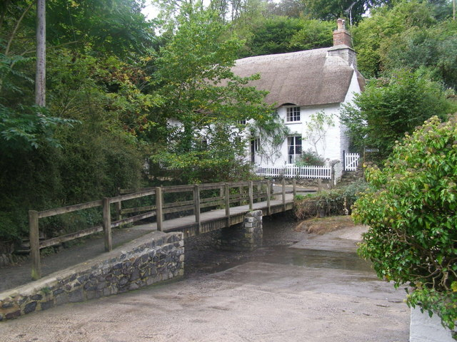 The ford at Helford River